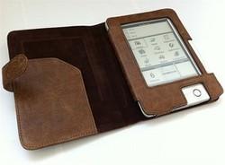 נרתיק עור לספר אלקטרוני PocketBook 602