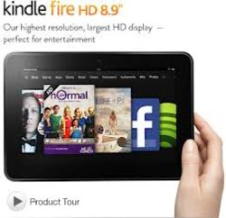 Amazon Kindle Fire HD 8.9 32GB Tablet Wi-Fi