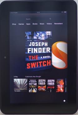 נרתיק מוקשה ל  7 Amazon Kindle Fire HD