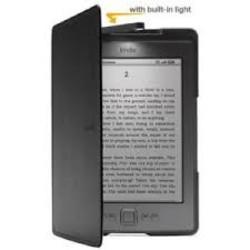 נרתיק עור ל Kindle 4/5 עם תאורה